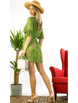 Rochie Dama Voal Irisha Verde