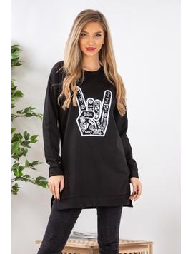 Bluza Dama TheRock Negru
