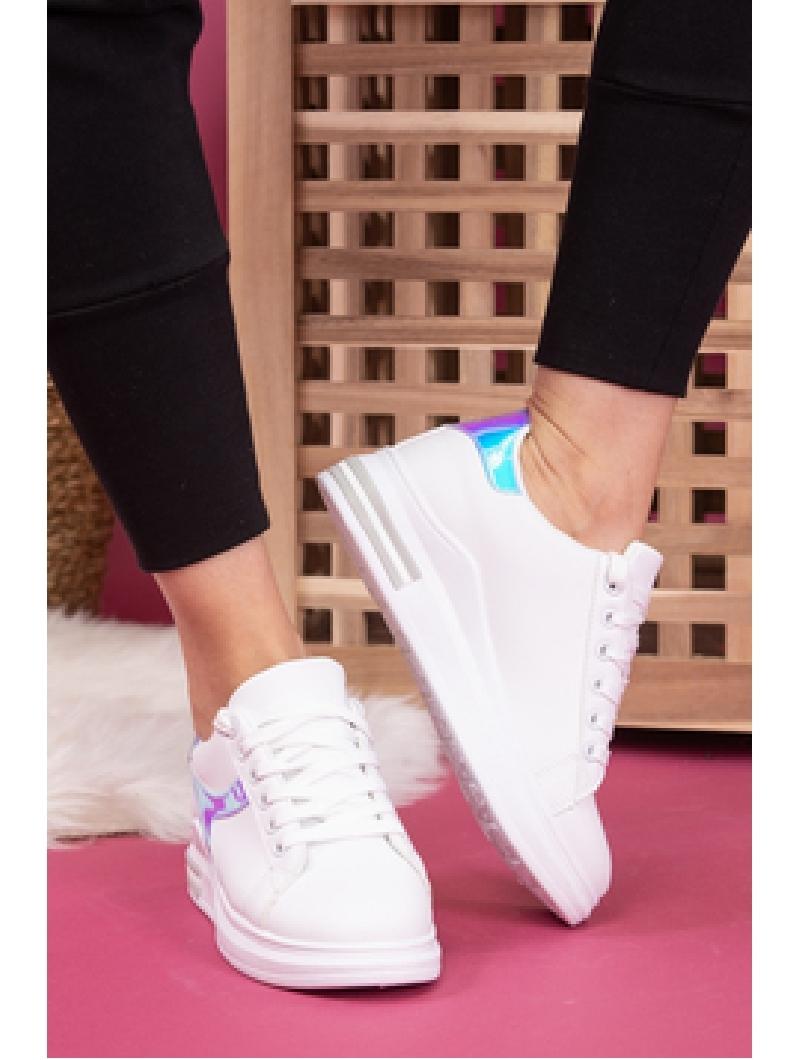 Adidasi Dama SportStar Three Alb