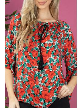 Bluza Dama Manveer Rosu