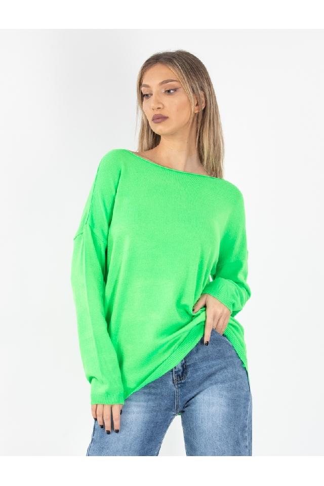 Pulover Dama Honora Verde