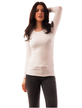 Bluza Dama Simpla Basic Alba