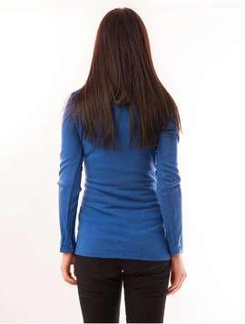 Pulover Dama Uni Simplicity Albastru