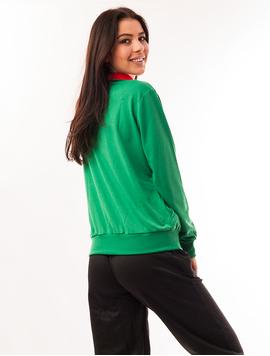 Bluza Dama Sport Cu Fermoar Activity Verde