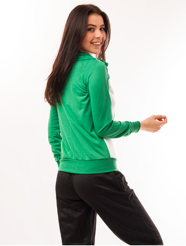 Bluza Dama Sport Cu Fermoar Viber Verde