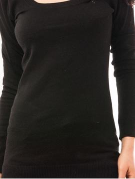Pulover Dama Simplu Sunday Negru