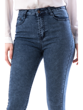 Jeans Dama Yhg187 Bleumarin