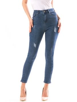 Jeans Dama KushSwag Albastru