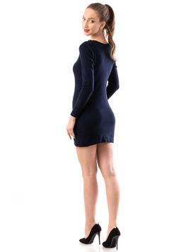 Rochie Dama ShortStones Bleumarin