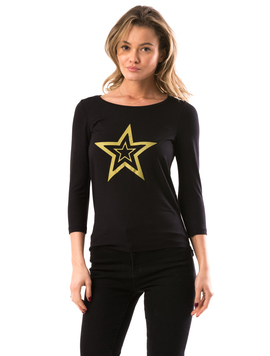 Bluza Dama GoldenShape Negru