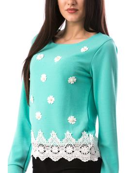 Bluza Dama MiniFlowersy677 Vernil