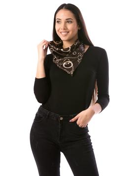 Esarfa Dama HoodyN78 Negru