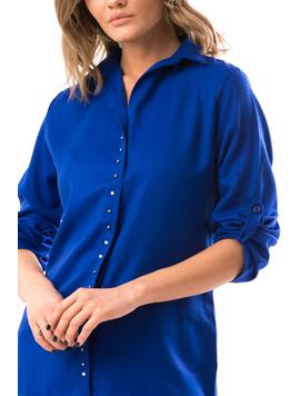 Camasa Dama ClaraSoft Albastru