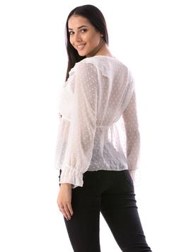 Bluza Dama WhyThy678 Alb