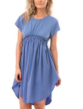 Rochie Dama CurlyWaist Bleu