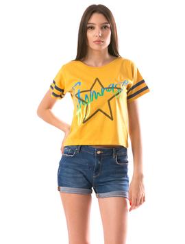 Tricou Dama StarStar Mustar
