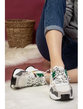 Adidas Dama Tamarra Alb si Verde