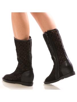 Sandale Dama LionBlack Negru
