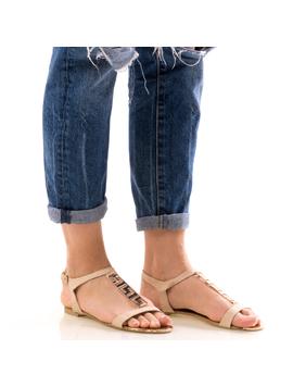 Sandale Dama FrontGold Bej