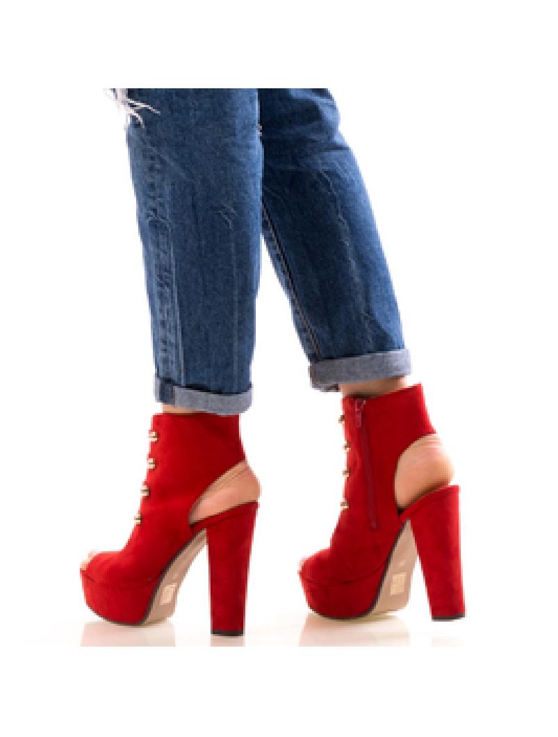 Sandale Dama CasualNice Rosu