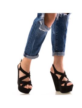Sandale Dama FrezBlack Negru