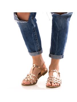 Sandale Dama CristalFront Roz