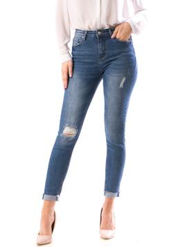 Jeans Dama Xrb107 Bleumarin
