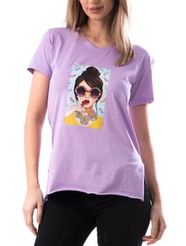 Tricou Dama LadyTx192 Lila