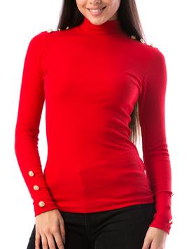 Bluza Dama GoldenButtons14 Rosu
