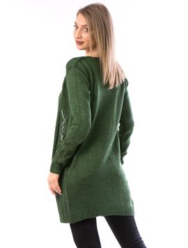 Cardigan Dama Resrty17 Verde