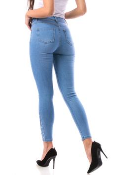 Jeans Dama Tnk18 Bleu