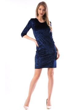 Rochie Dama Luxy56 Bleumarin