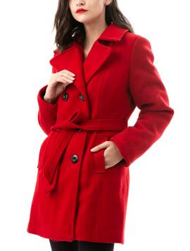 Palton Dama GettingWarmer Rosu