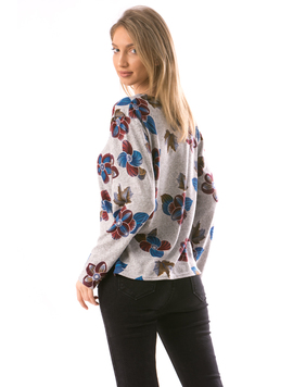 Bluza Dama CollarOneLace15 Gri