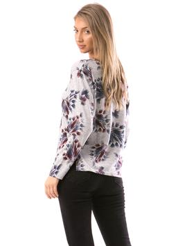 Bluza Dama ShortFlower Bleumarin