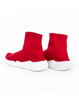 Adidasi Dama Inalti Sneakers Rosii