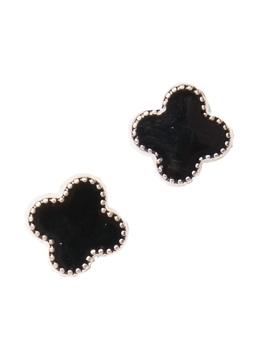 Cercei Floare Negri