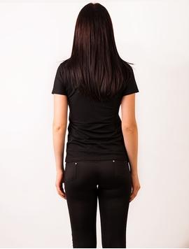 Tricou Dama Basic Simplu Negru