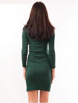 Rochie Mulata Cu Maneca Lunga Verde