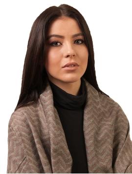Sal Dama Cu Model In Zig Zag Bej Si Maro