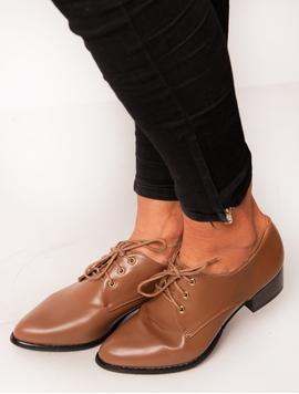 Pantofi Dama Cu Siret Maro