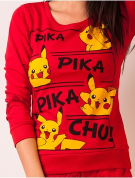 Trening Dama Cu Pikachu Rosu
