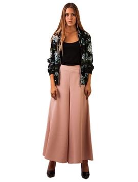 Pantaloni Dama Evazati Roz