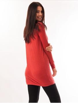 Bluza Dama Lunga Texturata Corai