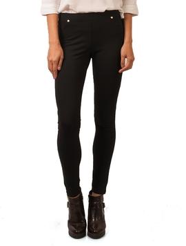 Pantaloni Dama Stil Colant Negri