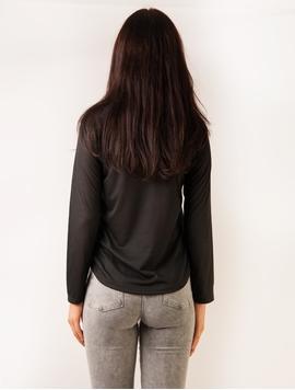 Bluza Dama Cu Pietricele Paris Negru