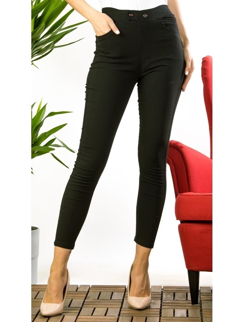 Pantaloni Dama Jezzy Negru