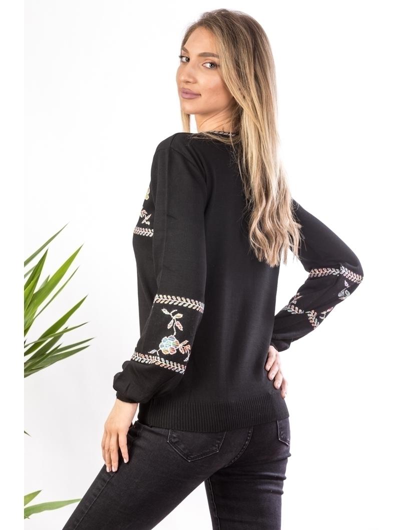 Pulover Dama TraditionalLorre Negru