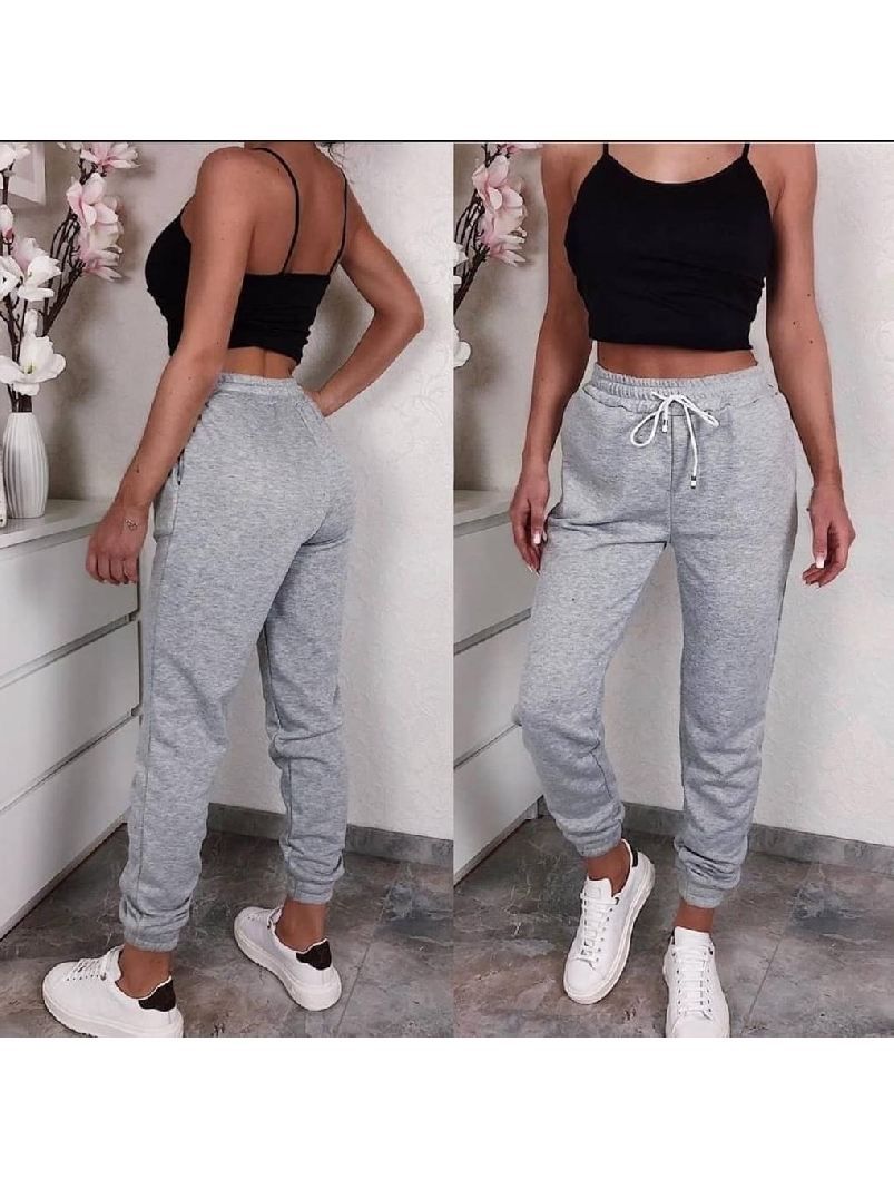 Pantaloni Dama Tressy One Gri