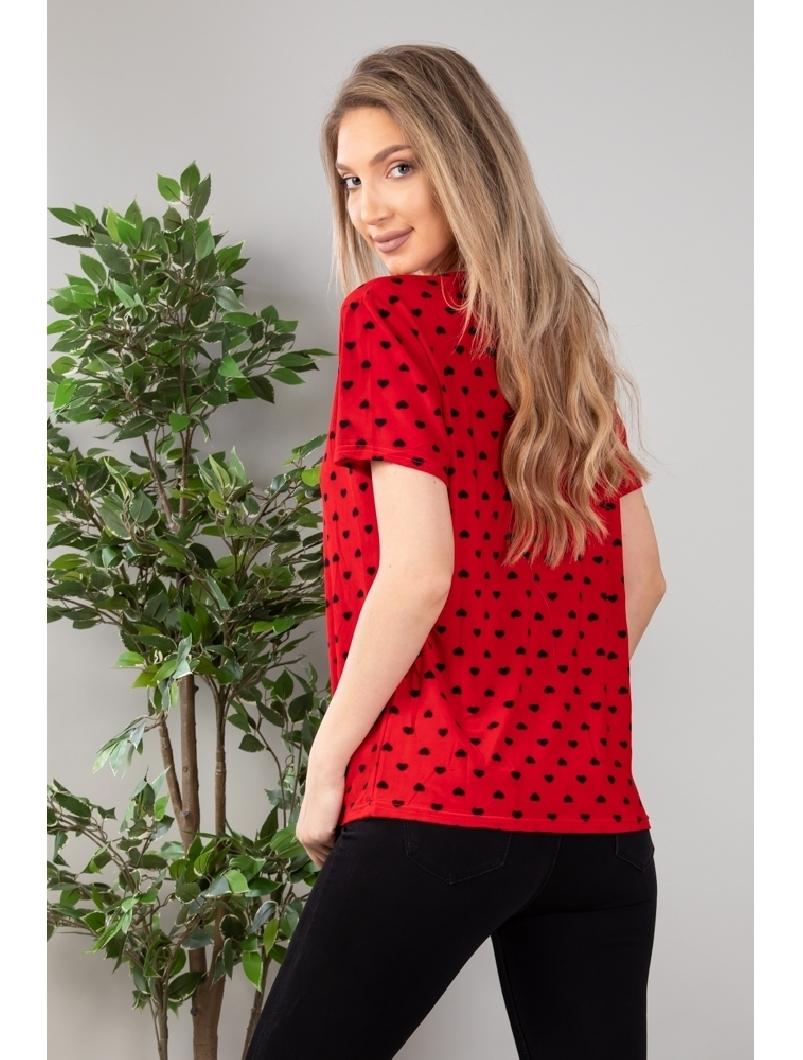 Bluza Dama Maxi Alston Rosu